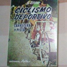 Coleccionismo deportivo: CICLISMO DEPORTIVO.CARRETERA Y PISTA. Lote 30245686