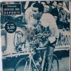 """Coleccionismo deportivo - COLECCION IDOLOS DEL DEPORTE """"GEMINIANI"""" CICLISTA (MADRID, AÑOS 50) - 37010104"""