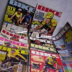 Coleccionismo deportivo: REVISTAS BIKE A 3 € UNIDAD PIDE LAS QUE TE INTERESEN Y TE HAGO EL ANUNCIO. Lote 51390290