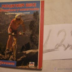 Coleccionismo deportivo: MOUNTAIN BIKE, REPARACIONES Y CONSERVACION - JOHN STEVENSON. Lote 40167051
