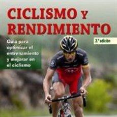 Coleccionismo deportivo: MOUNTAIN BIKE. CICLISMO Y RENDIMIENTO - YAGO ALCALDE GORDILLO. Lote 40757773
