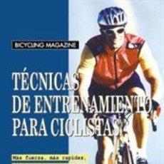 Coleccionismo deportivo: CICLISMO. MOUNTAIN BIKE. TÉCNICAS DE ENTRENAMIENTO PARA CICLISTAS - ED PAVELKA. Lote 40790371