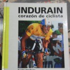 Coleccionismo deportivo: LIBRO MIGUEL INDURAIN -FOTOS DE GRAHAM WATSON-. Lote 44422819