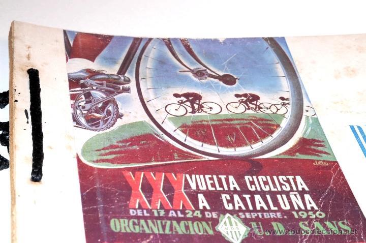 Coleccionismo deportivo: PROGRAMA OFICIAL XXX VUELTA CICLISTA A CATALUÑA GRAN PREMIO PIRELLI AÑO 1950 - Foto 4 - 44908984