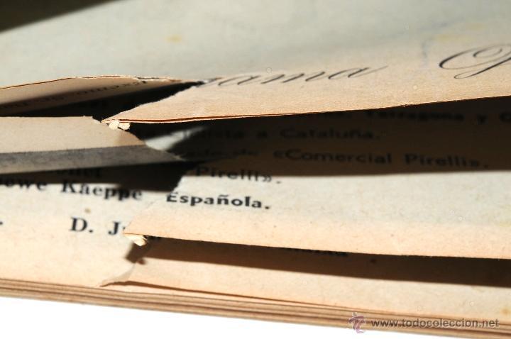 Coleccionismo deportivo: PROGRAMA OFICIAL XXX VUELTA CICLISTA A CATALUÑA GRAN PREMIO PIRELLI AÑO 1950 - Foto 6 - 44908984