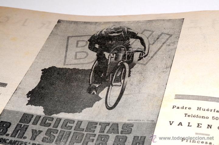 Coleccionismo deportivo: PROGRAMA OFICIAL XXX VUELTA CICLISTA A CATALUÑA GRAN PREMIO PIRELLI AÑO 1950 - Foto 13 - 44908984