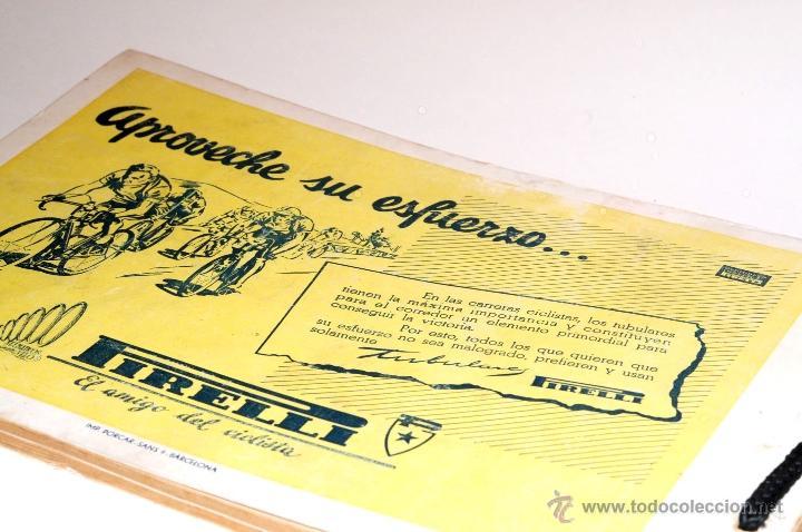 Coleccionismo deportivo: PROGRAMA OFICIAL XXX VUELTA CICLISTA A CATALUÑA GRAN PREMIO PIRELLI AÑO 1950 - Foto 14 - 44908984