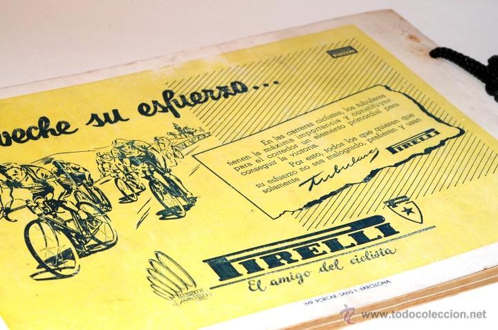 Coleccionismo deportivo: PROGRAMA OFICIAL XXX VUELTA CICLISTA A CATALUÑA GRAN PREMIO PIRELLI AÑO 1950 - Foto 15 - 44908984