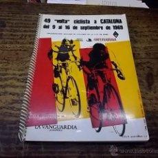 Coleccionismo deportivo: 3407.- CICLISMO-49 VOLTA CICLISTA A CATALUNYA SEPTIEMBRE DE 1969-PROGRAMA OFICIAL. Lote 45152480