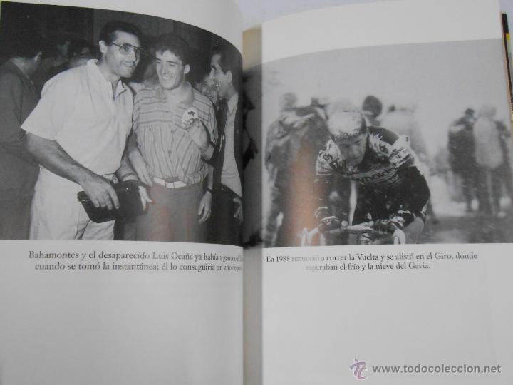 Coleccionismo deportivo: PEDRO DELGADO A GOLPE DE PEDAL. JULIAN REDONDO. COLECCIÓN VISTO Y LEIDO. TDK209 - Foto 3 - 46184873
