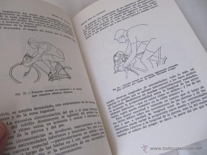 Coleccionismo deportivo: LA TECNICA DEL CICLISMO - GUIA PRACTICA PARA INSTRUCTORES Y CORREDORES. AÑO 1976 - 4ª EDICION - Foto 6 - 46519038