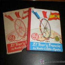 Coleccionismo deportivo: EL TOUR DE FRANCIA Y LA VUELTA CICLISTA A ESPAÑA 1958 - EDICIONES DEPORTIVAS DINÁMICO. Lote 47051846
