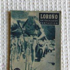 Coleccionismo deportivo - LOROÑO Nº62 DE LA COLECCION IDOLOS DEPORTIVOS AÑO 1959 - 47325731