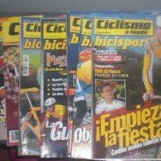 Coleccionismo deportivo: REVISTAS DE CICLISMO A FONDO. Lote 47617976