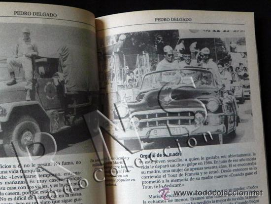 Coleccionismo deportivo: SIMPLEMENTE PERICO BIOGRAFÍA DE PEDRO DELGADO CICLISTA TOUR VUELTA ESPAÑA DEPORTE CICLISMO AS LIBRO - Foto 3 - 48307832