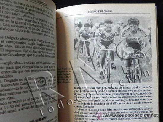 Coleccionismo deportivo: SIMPLEMENTE PERICO BIOGRAFÍA DE PEDRO DELGADO CICLISTA TOUR VUELTA ESPAÑA DEPORTE CICLISMO AS LIBRO - Foto 4 - 48307832