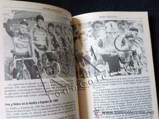 Coleccionismo deportivo: SIMPLEMENTE PERICO BIOGRAFÍA DE PEDRO DELGADO CICLISTA TOUR VUELTA ESPAÑA DEPORTE CICLISMO AS LIBRO - Foto 6 - 48307832