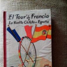Coleccionismo deportivo: EL TOUR DE FRANCIA Y LA VUELTA CICLISTA A ESPAÑA 1957 (DINÁMICO). Lote 50994122
