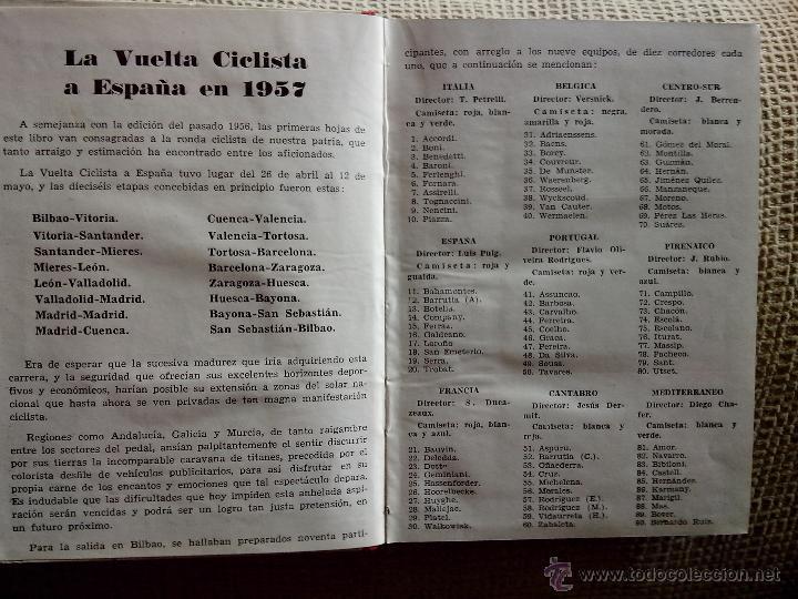 Coleccionismo deportivo: El Tour de Francia y La vuelta Ciclista a España 1957 (Dinámico) - Foto 2 - 50994122