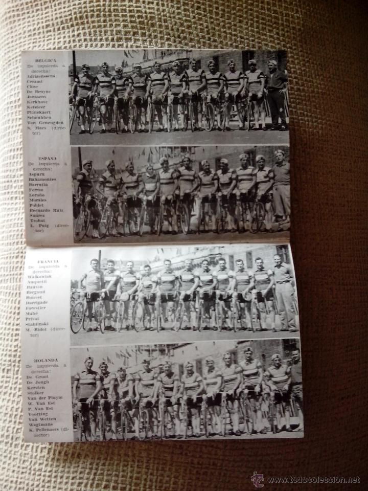 Coleccionismo deportivo: El Tour de Francia y La vuelta Ciclista a España 1957 (Dinámico) - Foto 5 - 50994122