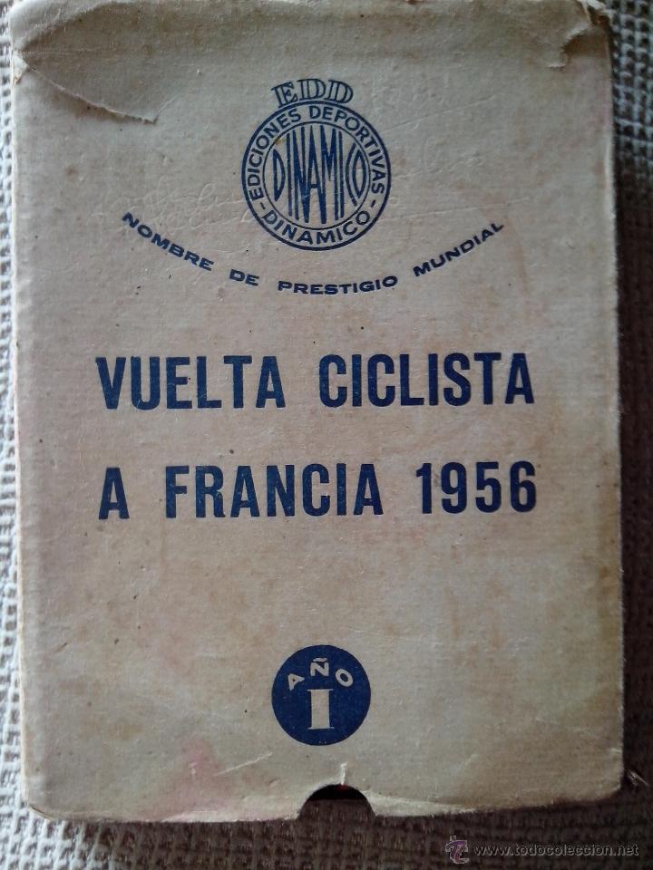 LIBRO VUELTA CICLISTA A FRANCIA TOUR DE FRANCIA 1956 (DINÁMICO) (Coleccionismo Deportivo - Libros de Ciclismo)
