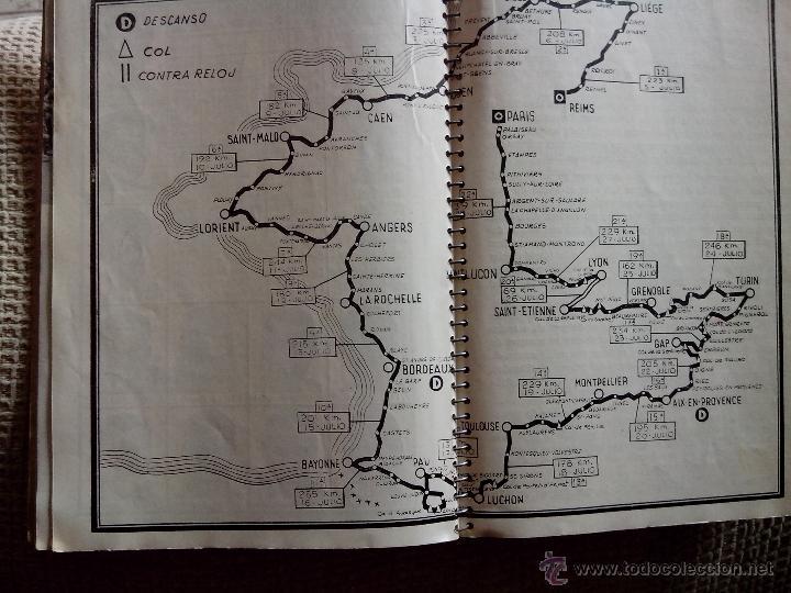 Coleccionismo deportivo: Libro Vuelta Ciclista a Francia Tour de Francia 1956 (Dinámico) - Foto 5 - 50994227