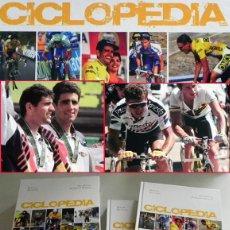 Coleccionismo deportivo: CICLOPEDIA DICCIONARIO DEL CICLISMO ESPAÑOL MODERNO 1990 2005 DEPORTE FOTOS CICLISTAS LIBRO 992 PÁG.. Lote 57306451