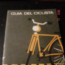 Coleccionismo deportivo - GUIA DEL CICLISTA. DIRECCION GENERAL DE TRAFICO DEL MINISTERIO DE LA GOBERNACION. AÑO 1975 - 52614773