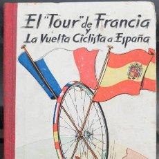 Coleccionismo deportivo: LIBRO EL TOUR DE FRANCIA Y LA VUELTA CICLISTA A ESPAÑA 1957, EDICIONES DEPORTIVAS DINAMO. Lote 56509386