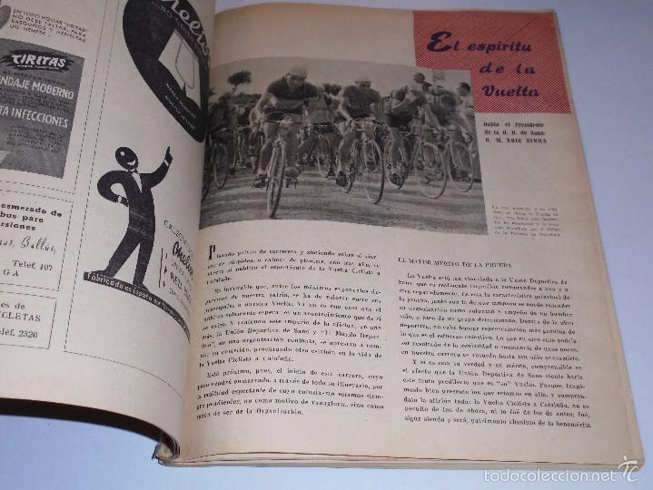 Coleccionismo deportivo: 32 VUELTA CICLISTA A CATALUÑA, PROGRAMA OFICIAL 1951 , ILUSTRADO, XII GRAN PREMIO PIRELLI - Foto 2 - 57042989