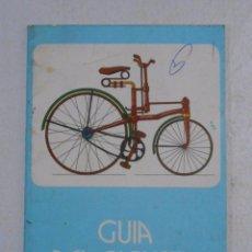 Coleccionismo deportivo: GUIA DEL CICLISTA. DIRECCION GENERAL DE TRAFICO. 1981. TDK222. Lote 57512838