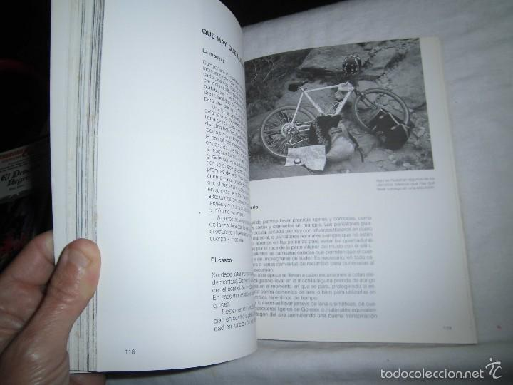 Coleccionismo deportivo: MOUNTAIN BIKE TECNICA Y MANTENIMIENTO.MARCO REY-GIORGIO SCHMITZ.EDITORIAL TUTOR 1992.-4ª EDICION - Foto 4 - 57528327