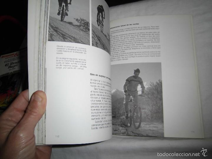 Coleccionismo deportivo: MOUNTAIN BIKE TECNICA Y MANTENIMIENTO.MARCO REY-GIORGIO SCHMITZ.EDITORIAL TUTOR 1992.-4ª EDICION - Foto 5 - 57528327