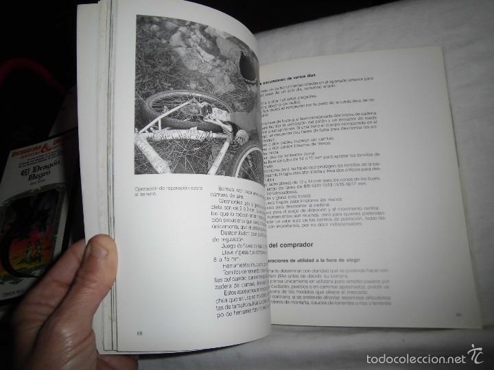 Coleccionismo deportivo: MOUNTAIN BIKE TECNICA Y MANTENIMIENTO.MARCO REY-GIORGIO SCHMITZ.EDITORIAL TUTOR 1992.-4ª EDICION - Foto 7 - 57528327