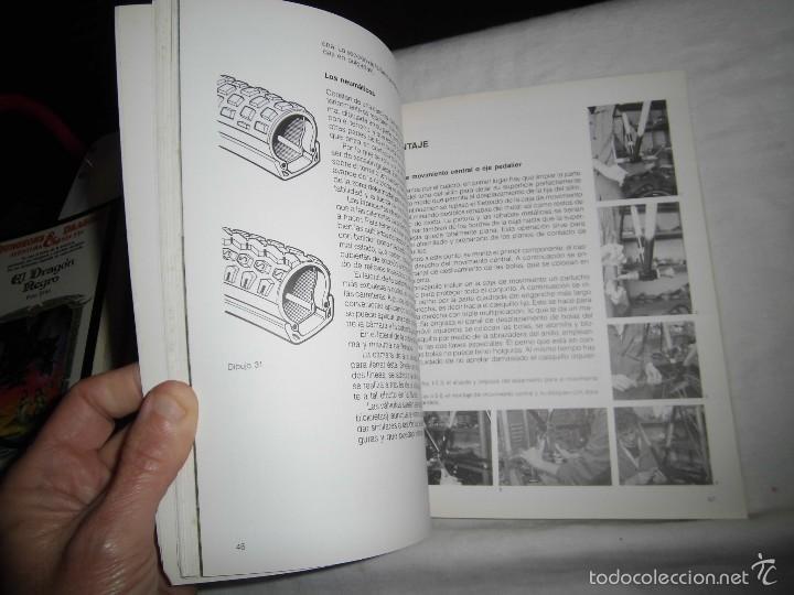 Coleccionismo deportivo: MOUNTAIN BIKE TECNICA Y MANTENIMIENTO.MARCO REY-GIORGIO SCHMITZ.EDITORIAL TUTOR 1992.-4ª EDICION - Foto 8 - 57528327