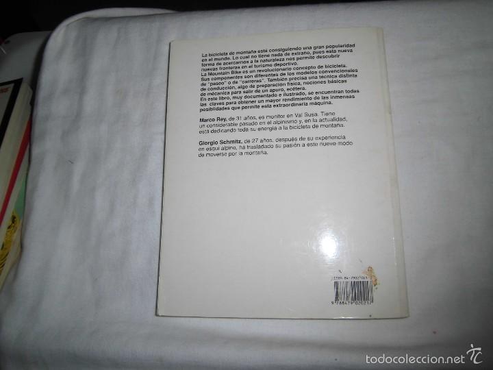 Coleccionismo deportivo: MOUNTAIN BIKE TECNICA Y MANTENIMIENTO.MARCO REY-GIORGIO SCHMITZ.EDITORIAL TUTOR 1992.-4ª EDICION - Foto 9 - 57528327