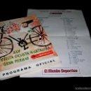 Coleccionismo deportivo: VUELTA XLV VOLTA CICLISTA CATALUÑA 1965, PROGRAMA OFICIAL, U.D.S. UNIÓN DEPORTIVA SANS. CICLISMO.. Lote 57967296