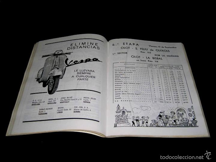 Coleccionismo deportivo: Vuelta XLV Volta Ciclista Cataluña 1965, Programa Oficial, U.D.S. Unión Deportiva Sans. Ciclismo. - Foto 3 - 57967296