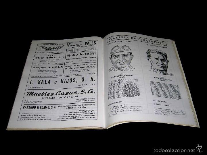 Coleccionismo deportivo: Vuelta XLV Volta Ciclista Cataluña 1965, Programa Oficial, U.D.S. Unión Deportiva Sans. Ciclismo. - Foto 5 - 57967296