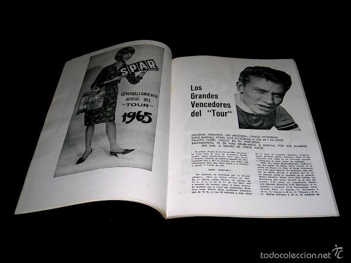 Coleccionismo deportivo: Ciclismo Tour de Francia France 1965, Programa oficial zona española, Barcelona. Participantes... - Foto 3 - 211626886