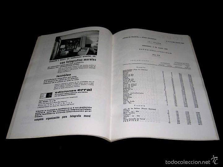 Coleccionismo deportivo: Ciclismo Tour de Francia France 1965, Programa oficial zona española, Barcelona. Participantes... - Foto 4 - 211626886