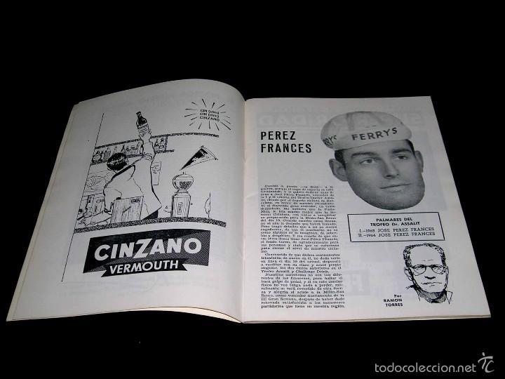 Coleccionismo deportivo: III Gran Semana del Ciclismo Catalán, Programas Itinerarios Oficiales, 10-14 Marzo 1965. - Foto 2 - 57990363