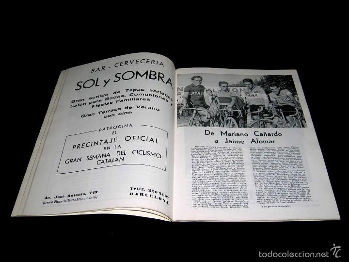 Coleccionismo deportivo: III Gran Semana del Ciclismo Catalán, Programas Itinerarios Oficiales, 10-14 Marzo 1965. - Foto 4 - 57990363