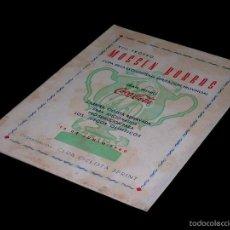 Coleccionismo deportivo: CICLISMO, PROGRAMA VIII TROFEO MOSSÉN BORRÁS, CLUB CICLISTA SPRINT, 12 JUNIO 1960.. Lote 58657812