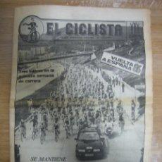 Coleccionismo deportivo: PERIODICO DE CICLISMO. Lote 59862308