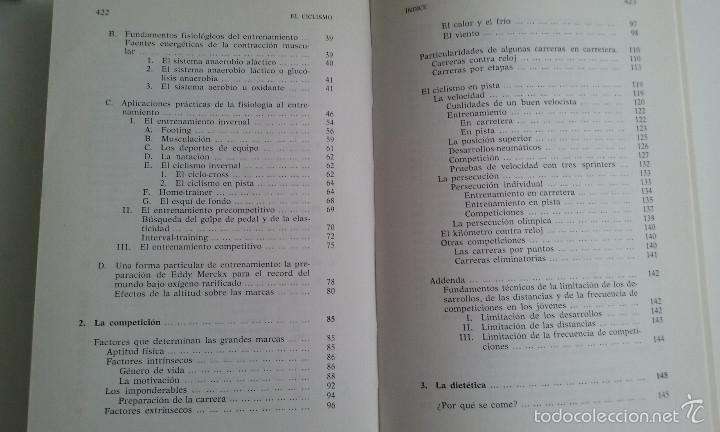 Coleccionismo deportivo: LIBRO/EL CICLISMO/PREFACIO DE EDDY MERCKX. - Foto 3 - 60633335