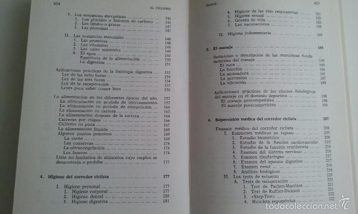 Coleccionismo deportivo: LIBRO/EL CICLISMO/PREFACIO DE EDDY MERCKX. - Foto 4 - 60633335