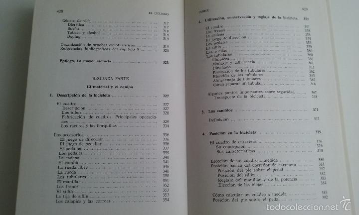 Coleccionismo deportivo: LIBRO/EL CICLISMO/PREFACIO DE EDDY MERCKX. - Foto 6 - 60633335