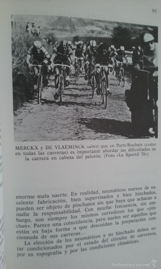 Coleccionismo deportivo: LIBRO/EL CICLISMO/PREFACIO DE EDDY MERCKX. - Foto 8 - 60633335