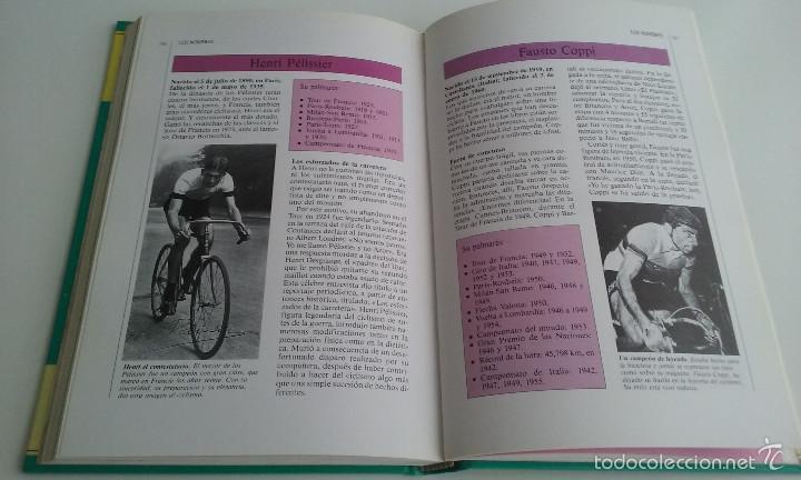 Coleccionismo deportivo: LIBRO/MANUAL TUTOR DEL CICLISMO. - Foto 5 - 60634443